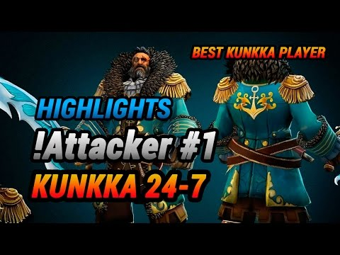 Kunkka dota 2 Attacker highlights
