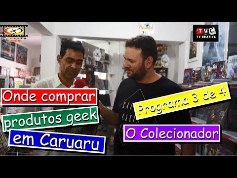 Onde comprar produtos geeks em Caruaru
