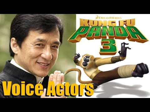 """Kung Fu Panda 3"" (2016) Voice Actors and Characters"