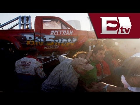 Monster Truck: tragedia en Chihuahua (VIDEO) / Monster Truck accident