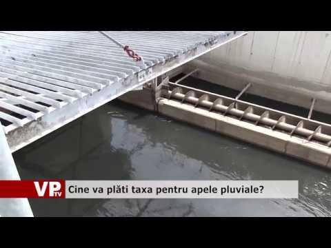 Cine va plăti taxa pentru apele pluviale?