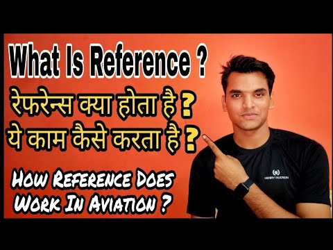 What Is Reference In Aviation Job   How Does Reference Work   Cabin Crew   Ground Staff   IAJ