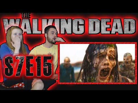 REACTION Walking Dead Season 7 Episode 15 | Something They Need