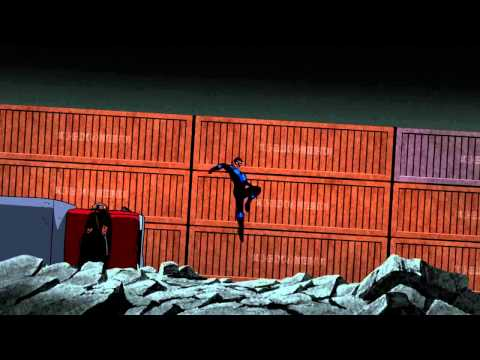 Batman: Under The Red Hood- Batman & Nightwing Vs. Amazo