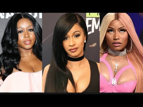 I WANT SMOKE CARDI & REMY! Nicki Minaj Says Remy Cant Be Queen Of Rap & She Might Have To Diss Cardi