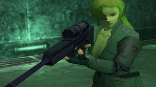 Metal Gear Solid: Sniper Wolf Boss Fight (Part 1)