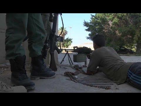 Libyen: Kämpfe um die Hafenstadt Derna