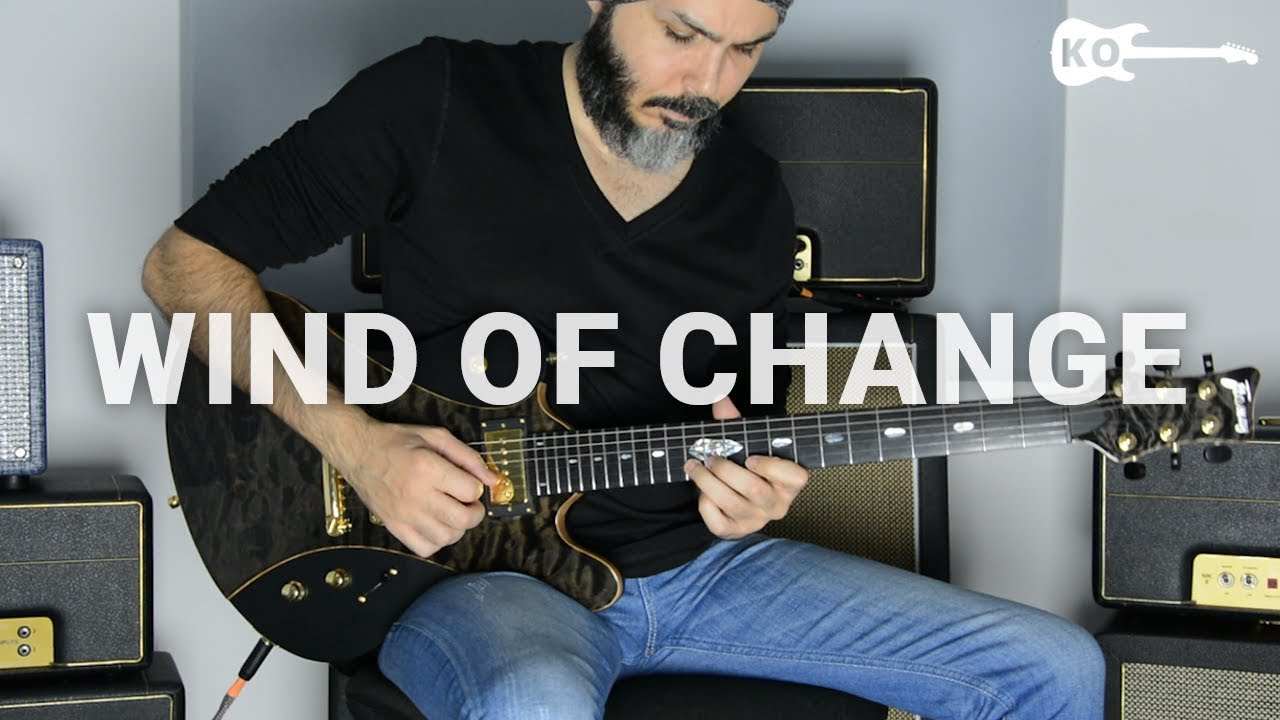 Scorpions – Wind Of Change – Electric Guitar Cover by Kfir Ochaion