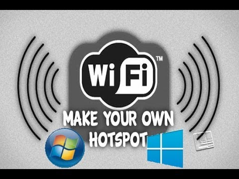 how to create hotspot in laptop
