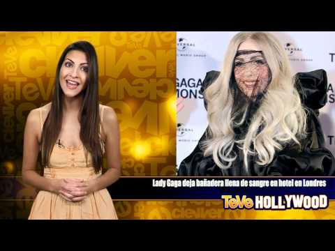Lady Gaga La Madre Monstruo Deja Sangre En Hotel En Londres