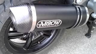 9. [2013-05] Prepa BMW C600 Sport Malossi Arrow - S2M BMW Motorrad Paris Est