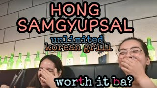 HONG SAMGYUPSAL UNLIMITED KOREAN GRILL IN MONTALBAN WORTH IT NGA BA ANG 399 PESOS? | Leanne Ashtrid