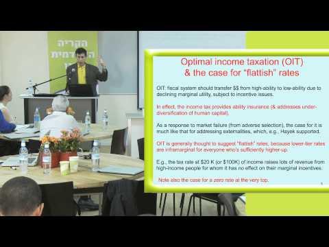 Steuern und soziale Gerechtigkeit - Daniel Shaviro
