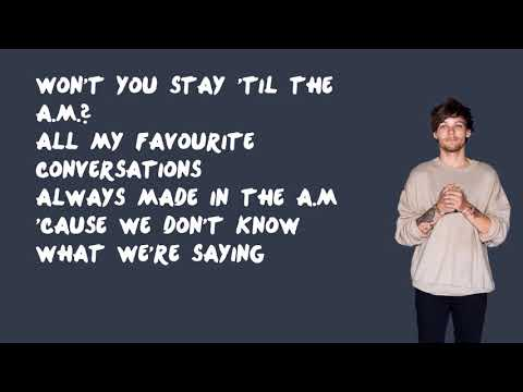 A.M. - One Direction (Lyrics)