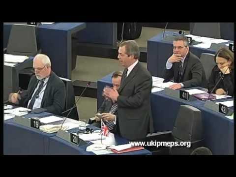 Nigel Farage: The EU is Increasingly About War