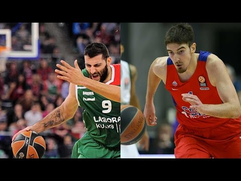 Top 16 Round 13 co-MVPs: Ioannis Bourousis and Nando De Colo