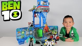 Video Ben 10 Toys Transforming Alien Playset Rustbucket Unboxing And Playing With Ckn Toys MP3, 3GP, MP4, WEBM, AVI, FLV Juli 2017
