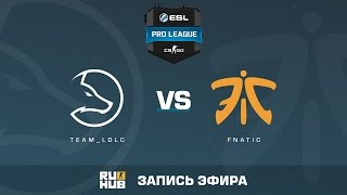 Team_LDLC vs. fnatic - ESL Pro League S5 - de_inferno [Enkanis, yxo]