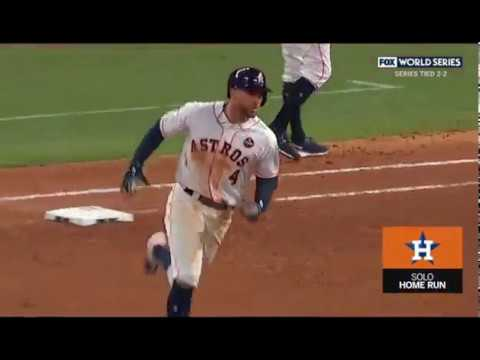 George Springer Home Run World Series Game 5 2017