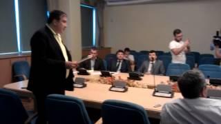 Саакашвили и глава Госавиаслужбы