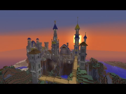 how to build a big castle in minecraft youtube