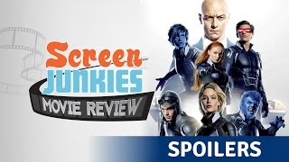 X- Men Apocalypse SPOILER REVIEW! by Screen Junkies