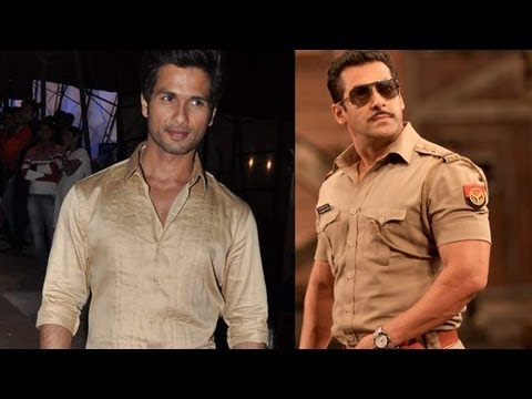 Shahid Kapoor Takes Cue From Salman Khan