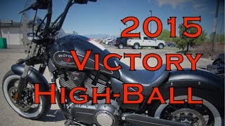 9. Demo Ride: 2015 Victory High-Ball