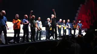 Outside The Wall featuring David Gilmour and Nick Mason, Roger Waters, The Wall 12th May 2011