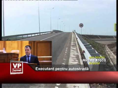 Executant pentru autostradă