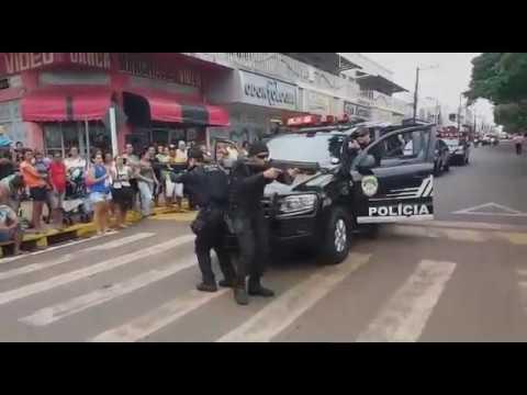 Polícia Civil de Mundo Novo participa de desfile comemorativo
