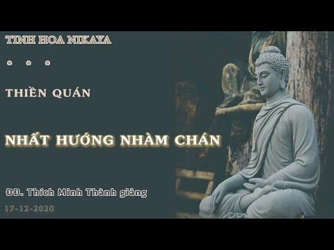 Tinh Hoa NIKAYA - Thiền Quán - Nhất Hướng Nhàm Chán