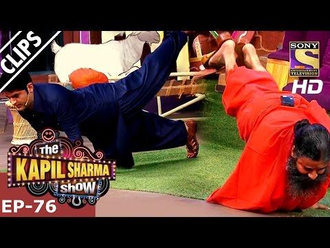 Baba Ramdev on The Show – The Kapil Sharma Show - 22nd Jan 2017