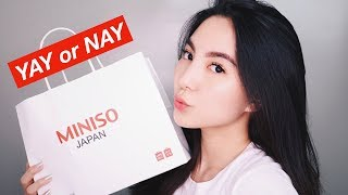 Video MINISO One Brand Makeup Tutorial - First Impression & Honest Review MP3, 3GP, MP4, WEBM, AVI, FLV November 2018