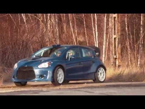 NEW MITSUBISHI WRC PROTOTYPE