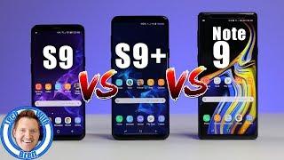 Video Samsung Galaxy S9 vs S9+ vs Note 9 Full Comparison MP3, 3GP, MP4, WEBM, AVI, FLV Januari 2019