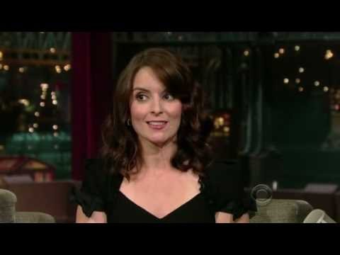 Tina Fey on Letterman, October 17, 2008