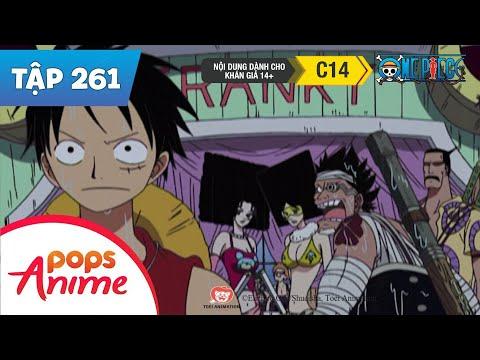 One Piece Tập 261 - Máy Cắt Quỷ Zoro! Kẻ Đào Thuyền t-Bone - Phim Hoạt Hình - Thời lượng: 27:21.