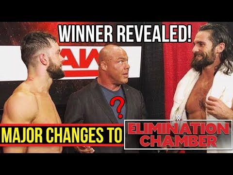 REAL WINNER REVEALED! Major Changes To Elimination Chamber Match! - WWE RAW 2/12/18