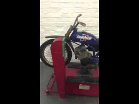 Coin Operated Italjet Motorbike