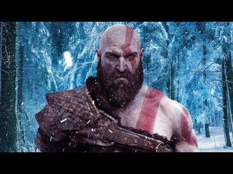 God of War ALL NORSE GOD Scenes (PS4 Pro) (видео)