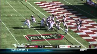"Bernard Pierce vs Wyoming 2011 ""New Mexico Bowl"""