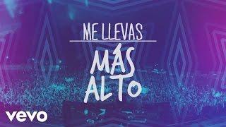 DJ PV  Me Llevas Más Alto Lyric Video ft. Alex Campos Redimi2