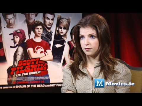 moviesireland - SCOTT PILGRIM VS THE WORLD is the new movie from Anna Kendrick - Interview by Paul Byrne. Anna Kendrick plays Stacey Pilgrim in Edgar Wrights hit new movie. ...