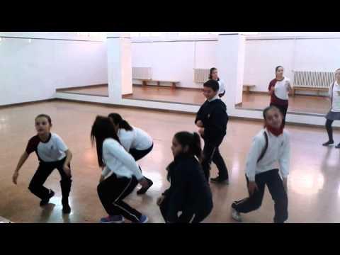 Baile con 6º curso de Primaria