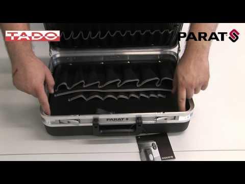 WALIZKA SERWISOWA Silver 465x170x310mm 3,7kg Parat