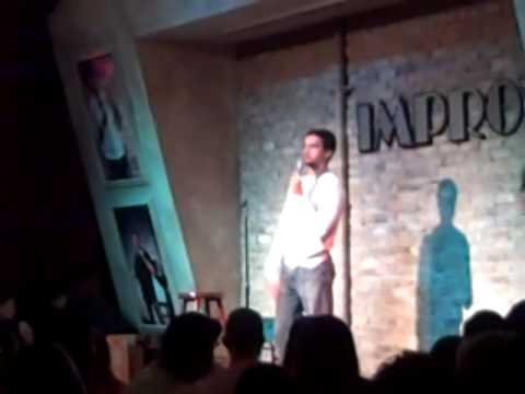 John Creagh performing at Ft. Lauderdale Improv Christmas Weekend.AVI