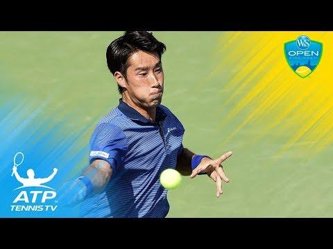 Yuichi Sugita beats Sousa, reaches last 16 | Cincinnati 2017