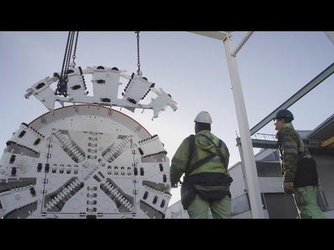 Von Aichelberg bis Hohenstadt durch die Schwäbische Alb | Tunnelarbeiten 2014