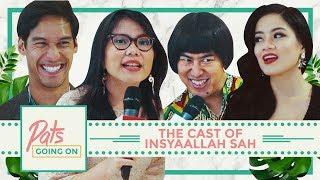 "Pats Going On lagi-lagi naik level nih! Patty dapat previlege menginterview para cast Film Insyaallah Sah dan ngerjain beberapa cameo-cameo lainnya di Gala Premiere yang diadakan di Metropole, Jakarta Pusat. Film Insyaallah Sah udah bisa ditonton secara keseluruhan di tanggal 25 Juni 2017..!  Tonton juga AKM bareng Titi Kamal, Pandji dan Richard Kyle di sini: https://youtu.be/FgH9uzLyS6gCast Utama Insyaallah Sah:@titi_kamall@richo_kyle@pandji.pragiwaksonoCameo ""Insyallah Sah"" yang Patty ajak main:@kiranalarasati@prillylatuconsina96@lidyakandou@akbar__@prettyasmara@marcellazalianty@wulanguritno@aruanmarsha@samuelrizal1--------------------------------------------------------------► Subscribe channel Malesbangetdotcom: http://mlsbgt.de/SubsMBDCWebsite: http://malesbanget.comMerchandise Malesbanget bisa dibeli di: http://malesbanget.com/storeTwitter:  http://twitter.com/malesbanget   http://twitter.com/mbdcvideoInstagram:http://instagram.com/malesbangetFacebook: http://facebook.com/malesbangetdotcomVidio.com: http://www.vidio.com/@malesbangetdotcomDailymotion: www.dailymotion.com/malesbanget"